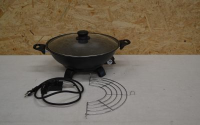 Wok électrique Intertronic #M4203