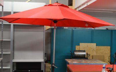 Parasol avec pied #E2111